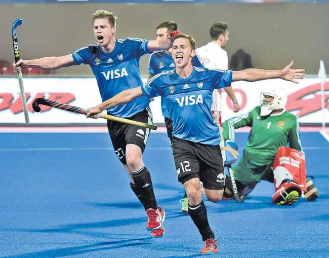 India is rival Argentina - Sakshi