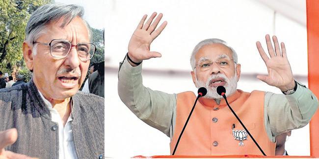 Congress suspends Mani Shankar Aiyar over 'Neech aadmi ' jibe against PM Narendra Modi - Sakshi