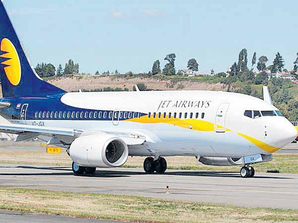 Jet Airways down 91 per cent - Sakshi