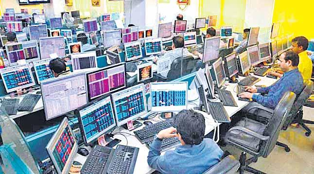 Sensex up 352 points - Sakshi