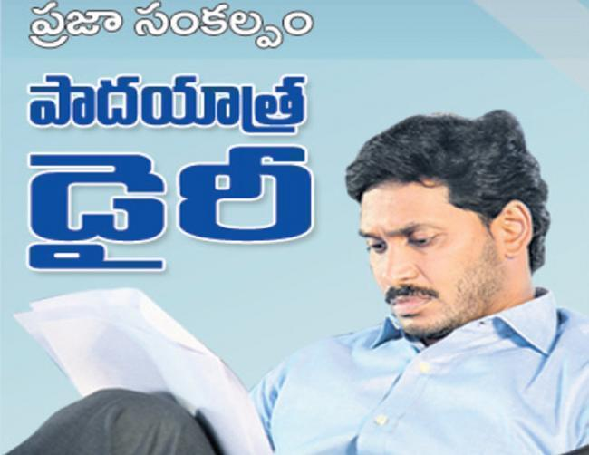 Ys jagan mohanreddy 29th day dairy - Sakshi