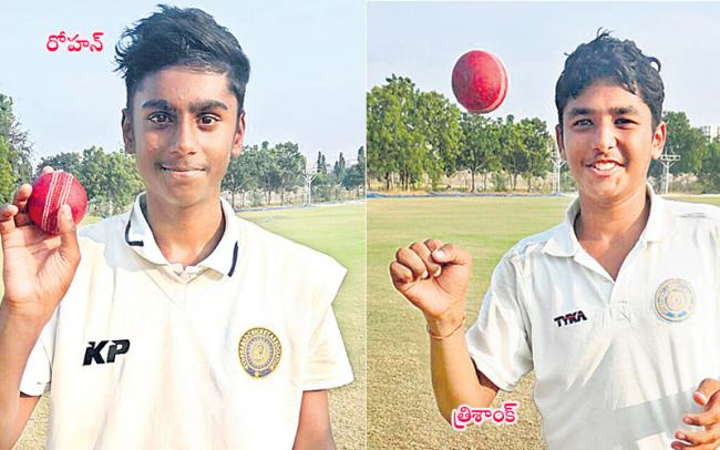 Rohan, Trishank bowl Hyderabad to innings win over Goa - Sakshi