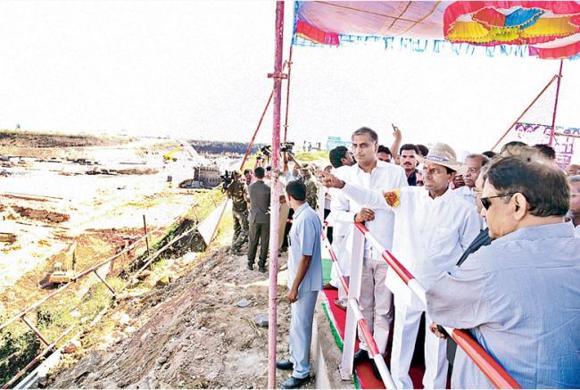 Single drop should not loss says kcr - Sakshi