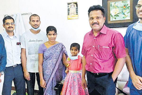liver transplant to a children for free of cost - Sakshi