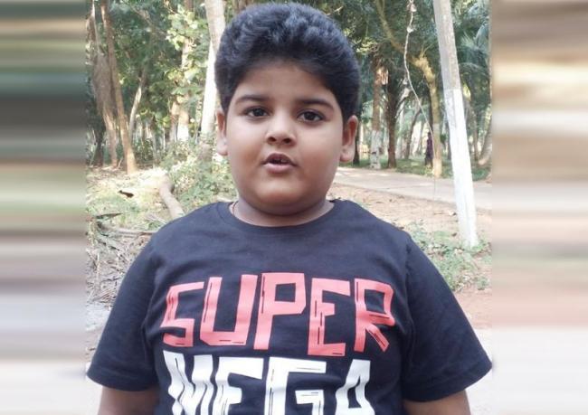 Child Artist Nehanth Special Interview - Sakshi