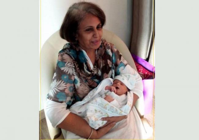 Mysuru royal Trishika Devi Wadiyar gives birth to baby boy - Sakshi