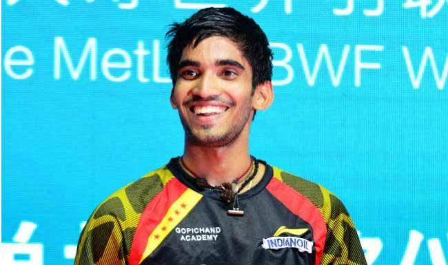 Srikanth is in fourth place - Sakshi