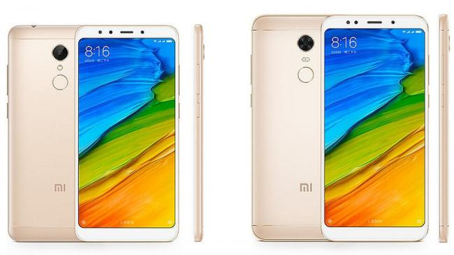 Xiaomi Redmi 5, Redmi 5 Plus launched with 18:9 display - Sakshi