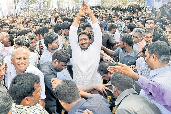 YS Jaganmohan Reddy 29th day in praja sankalpa yatra - Sakshi