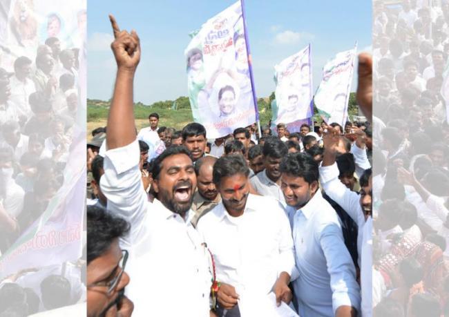 Jagan's campaign crosses the 400-km mark - Sakshi