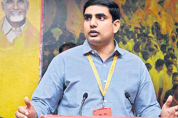 Nara's net assets is 75 crores! - Sakshi