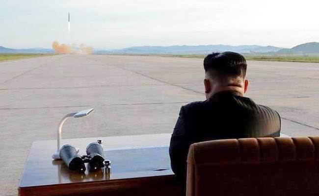 nuclear button always on my table; Kim Jong New year message - Sakshi