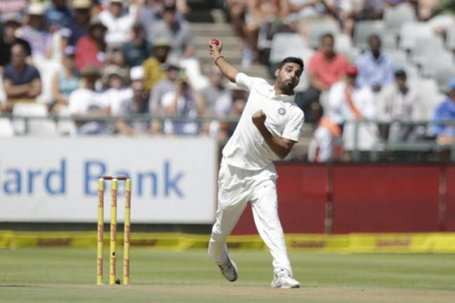 Bhuvneshwar Achieves Career High; Kohli, Pujara Fall Down - Sakshi