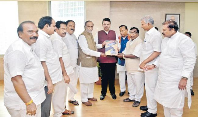 BJP focus on the state to develop there party - Sakshi
