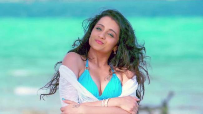 trisha act or not in sami -2 cinima? - Sakshi
