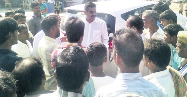 All areas development is our aim : mp vishweshwar reddy - Sakshi