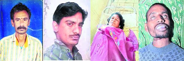 5 members commit suicide in old karimnagar - Sakshi