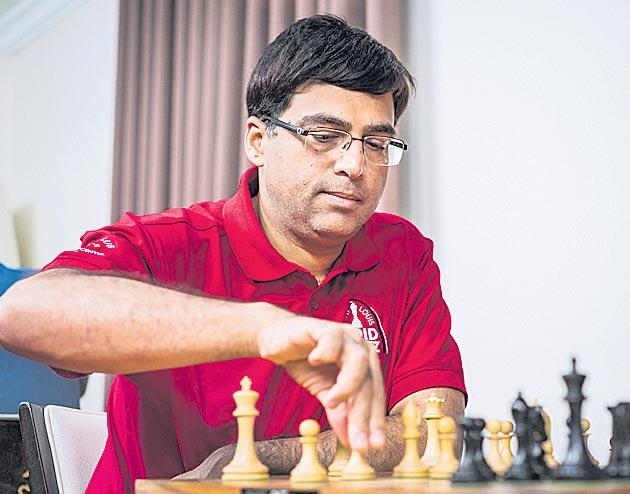 Anand is in the Tata Steel Masters Tournament - Sakshi