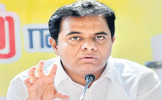 KTR comments on revanth reddy  - Sakshi