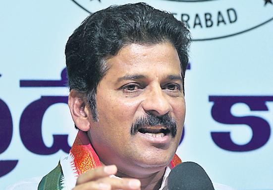 congress leader revanth reddy takes on mp balka suman and kcr - Sakshi