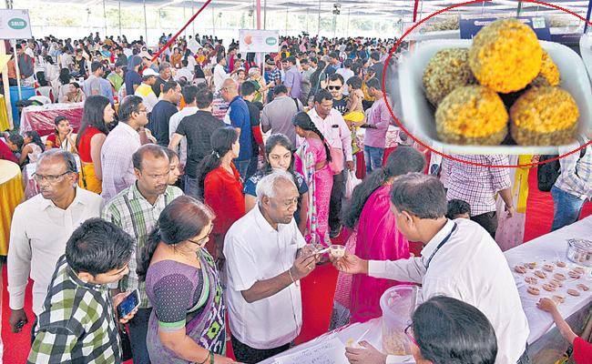 international sweet festival in hyderabad - Sakshi