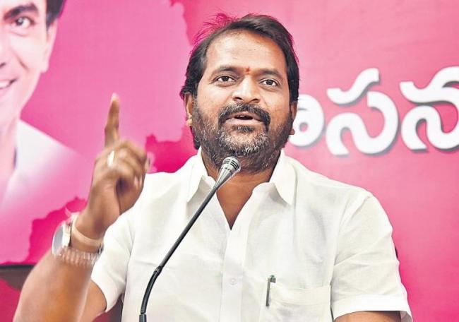 Srinivas goud fires on Congress party - Sakshi