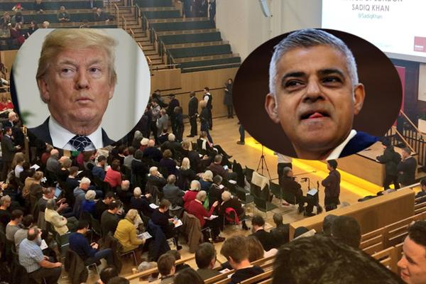 Donald Trump Supporters demand London Mayor Arrest - Sakshi