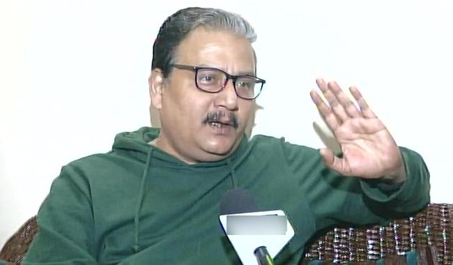 I never saw any Army chief be all over media : Manoj Jha - Sakshi