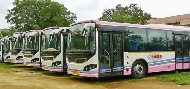 city bus charges adjusted in warangal - Sakshi
