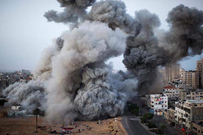 Israel Destroys Tunnel From Gaza - Sakshi