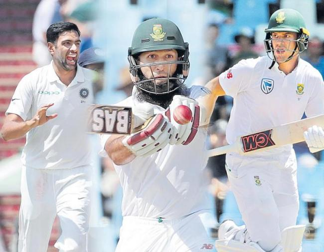 South Africa 269/6 at stumps on Day 1 - Sakshi
