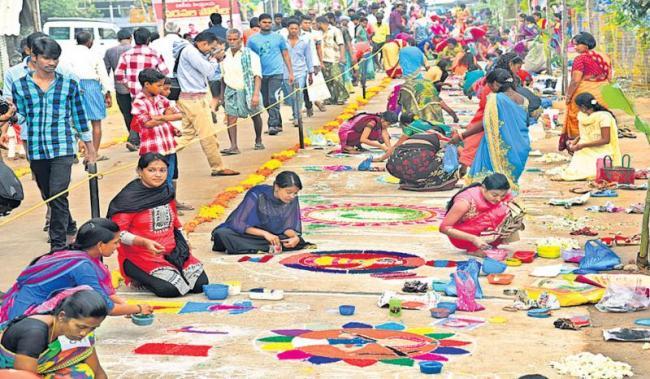 Huge celebration at villages of AP - Sakshi