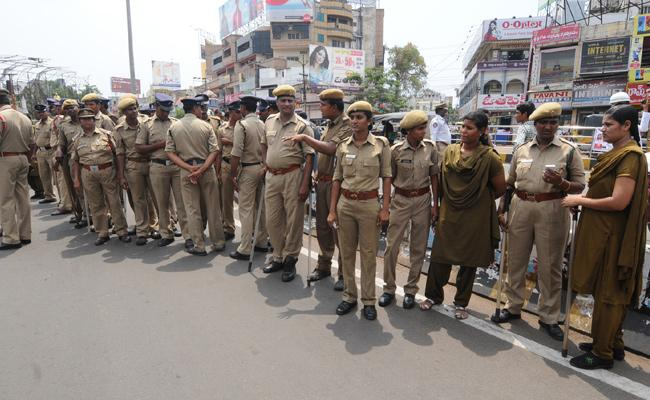 police department working in all festival - Sakshi