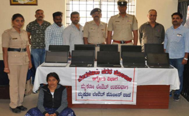 young girl doing thefts in banashankari - Sakshi