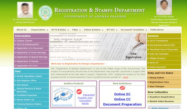 ec and cc easy with online registration website - Sakshi