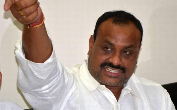 Minister acchennaidu followers eye on land belongs to the RTC - Sakshi
