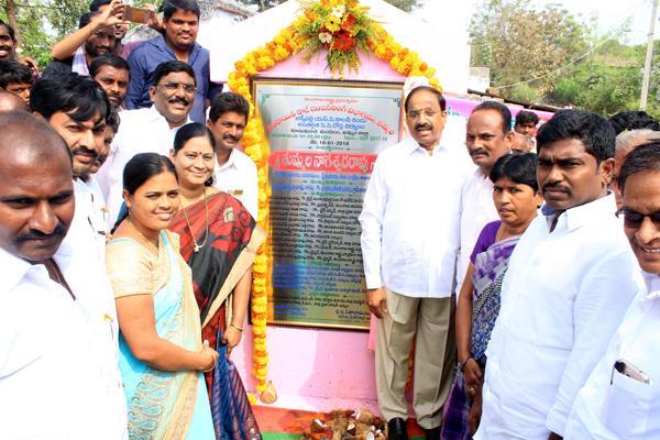 Tummala sanctions funds for Jakkapalli development - Sakshi
