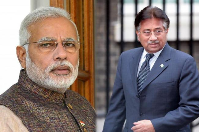 Modi is Dominating Pakistan : Pervez Musharraf - Sakshi