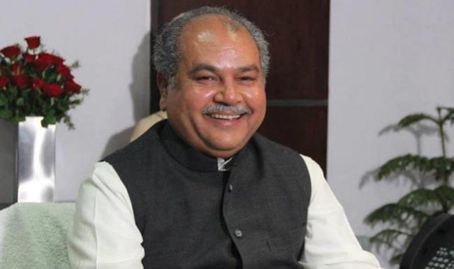 Remarks by Union Minister Narendra Singh Tomar upsets Congress - Sakshi