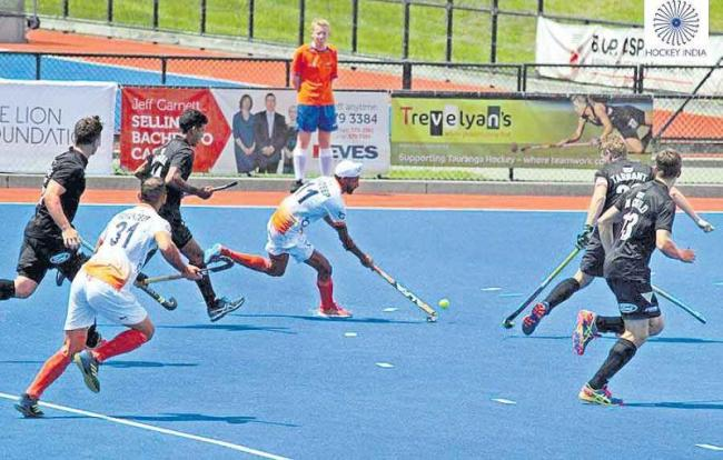 Indian team reached the final of the international hockey tournament - Sakshi