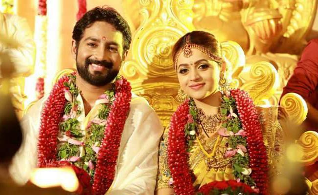 Bhavana, Naveen gets Married - Sakshi
