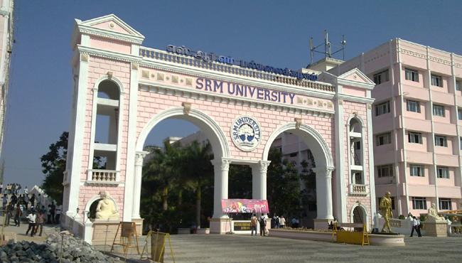 vijayawada student commits suicide in SRM university in chennai - Sakshi