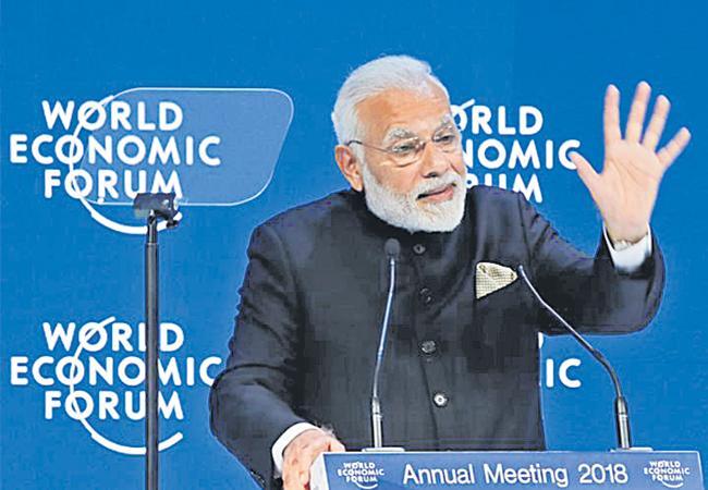 shekar gupta write article on davos world economic forum - Sakshi