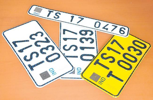 There should be a high-tech number plate - Sakshi