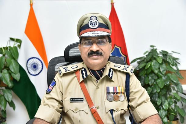 TS DGP Mahender reddy inaugurates technology fusion center - Sakshi