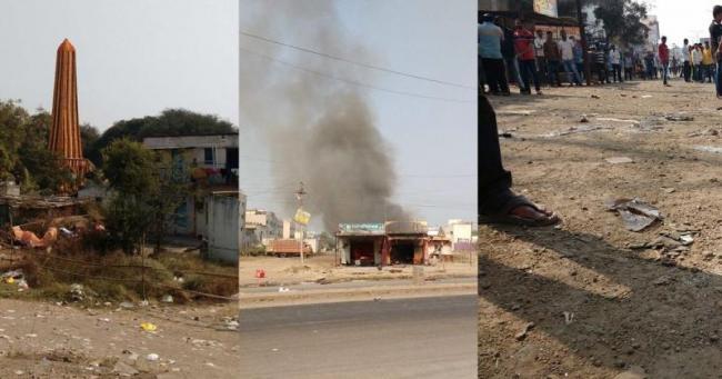 facebook page fueled tension in Maharashtra Bhima Koregaon - Sakshi