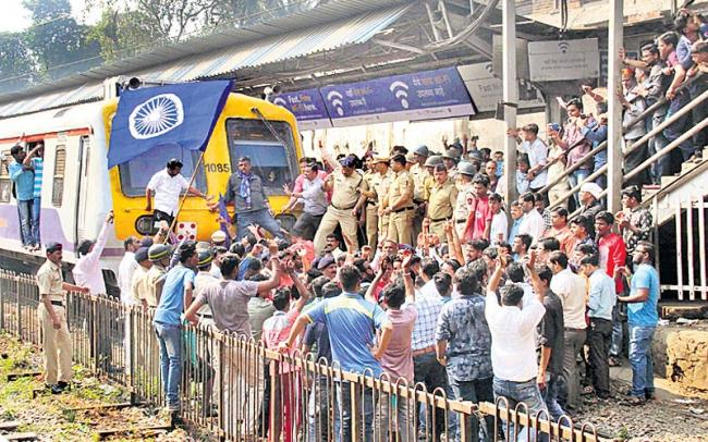 Why tensions in Maharashtra represent a tussle between competing nationalisms - Sakshi