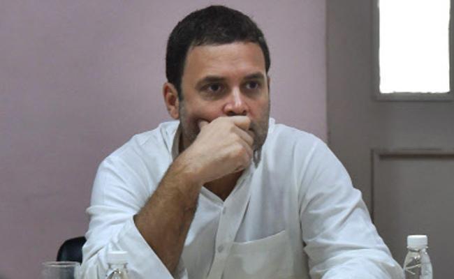 rahul gandhi given shock to esperance - Sakshi
