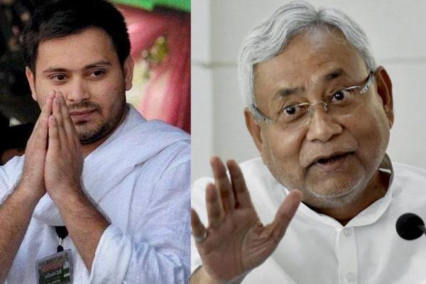 Lalu Jailed Tejashwi Yadav Tweet to Nitish - Sakshi