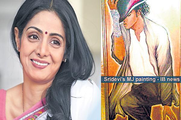 painter sridevi! - Sakshi